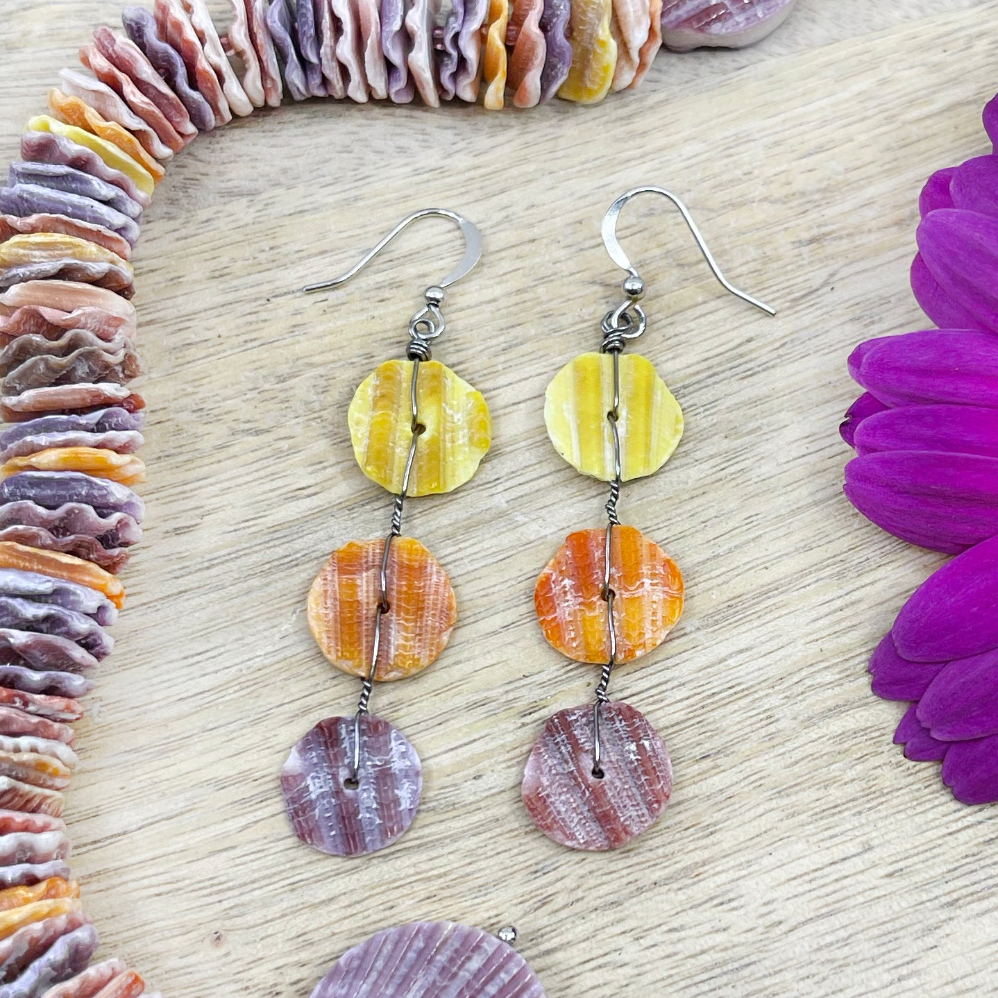 Pendientes Wire Wrapped
