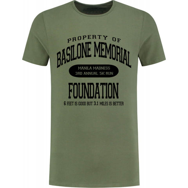 Basilone Memorial Foundation 5K Shirt