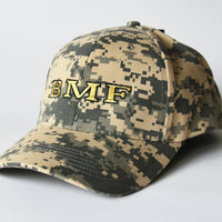 Light Camo Embroidered BMF Baseball Cap