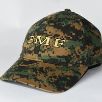 Dark Camo Embroidered BMF Baseball Cap