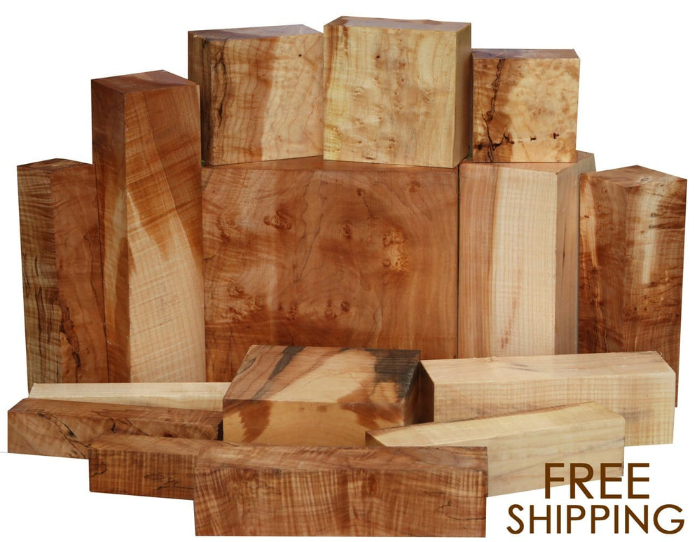 We Have Your Back. Beautiful Maple. No Shipping.