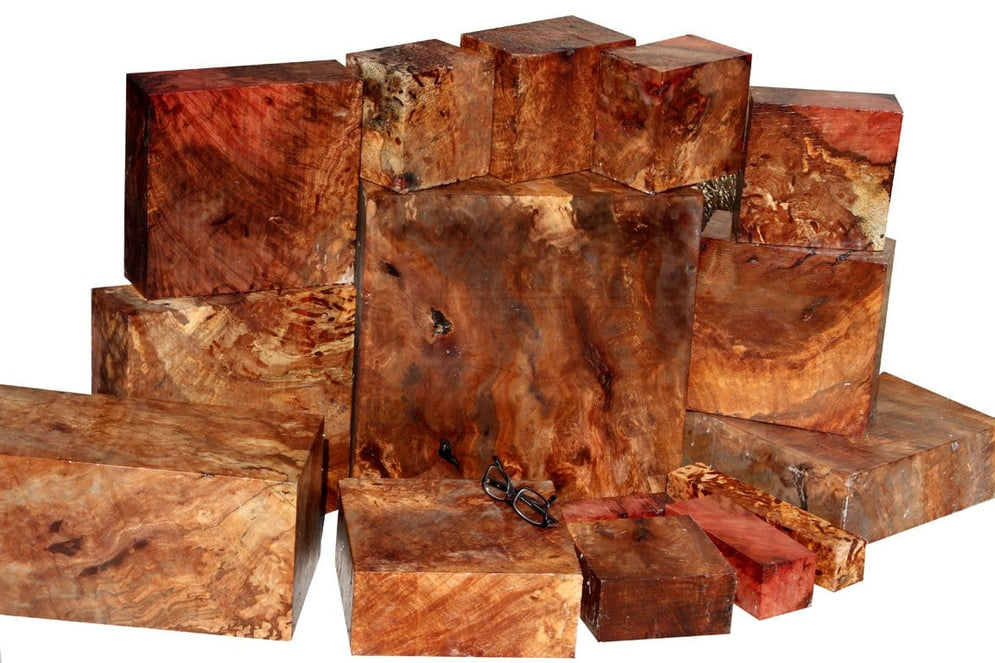 One-of-a-kind, Spalted Wormy Madrone Burl