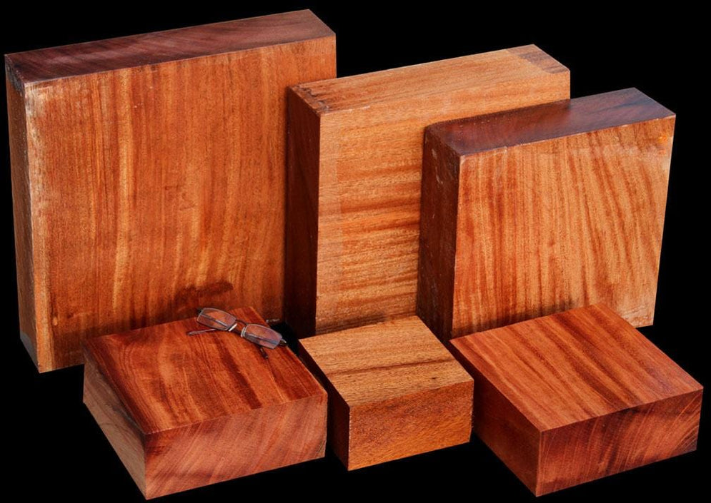 Goliath African Mahogany Dry Turning Wood