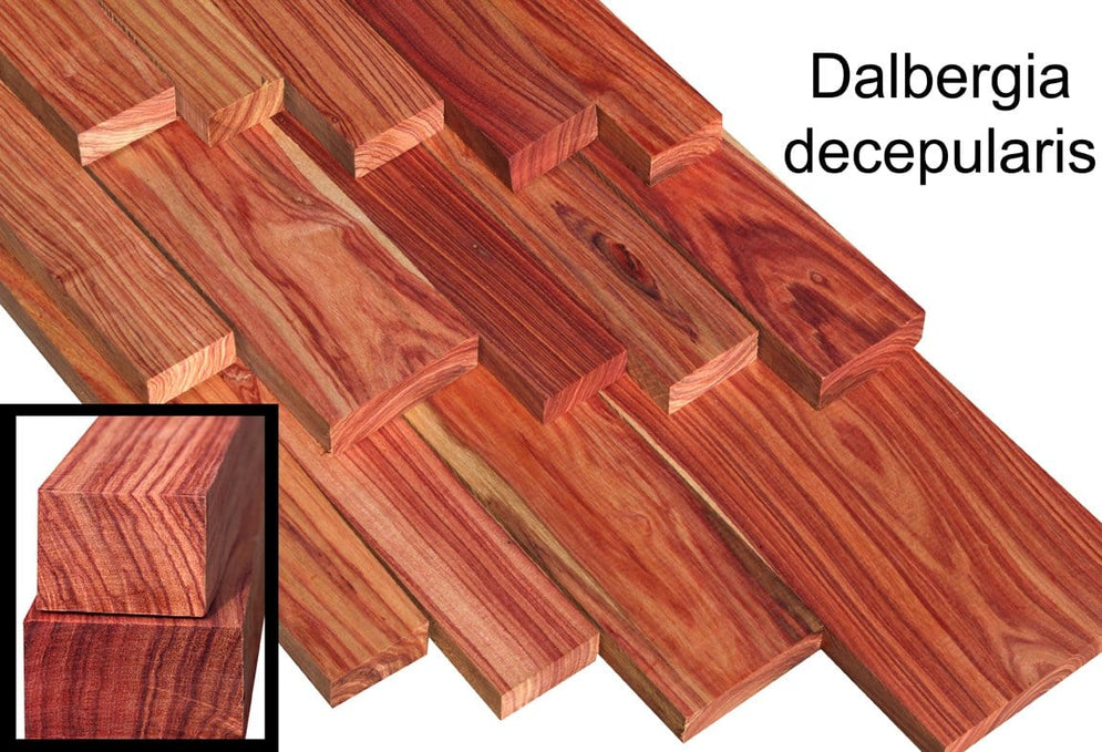 Brazilian Tulip Rosewood – color you won't want to miss