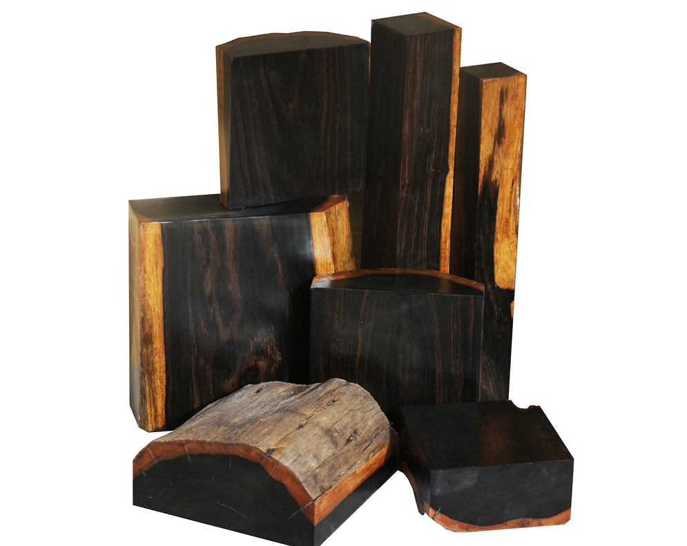 The most expensive woods in the world - #1 African Blackwood - $100 per board foot