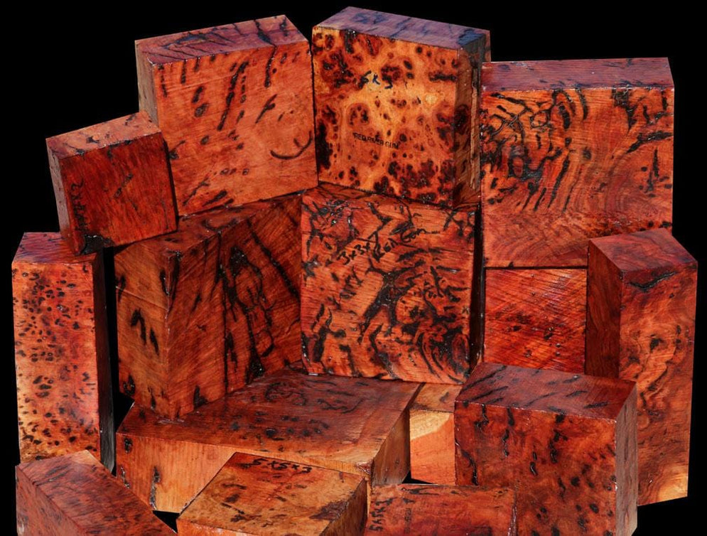 First Time Offer of Red Gum Resin Burl