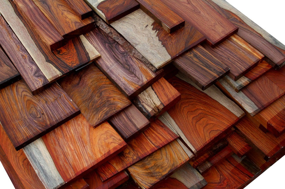 Colorful Cocobolo Rosewood – Exclusive Offering!