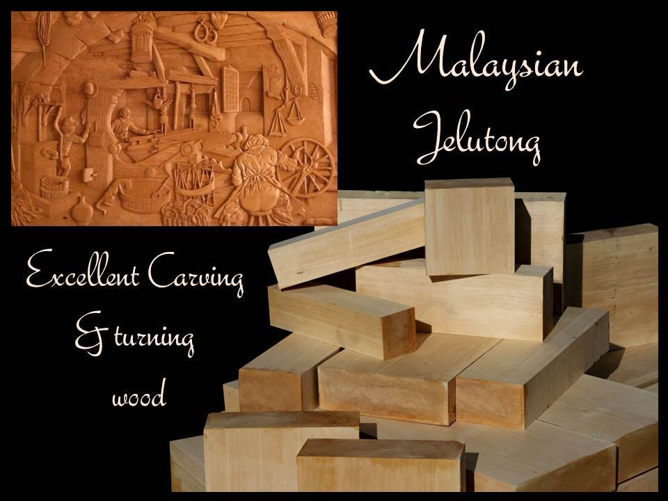 Malaysian Jelutong Carving & Turning Wood