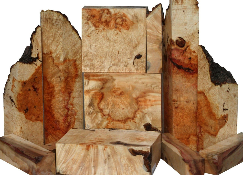 Box Elder Burl Turning & Mini Slab Sale!