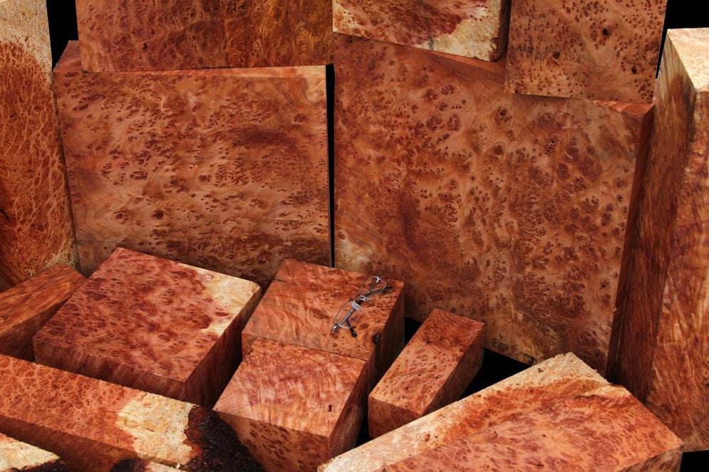 Exhibition Redwood Lace Burl, 50% Off