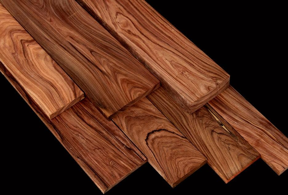 Thick, Chocolate Drizzled Bolivian Rosewood