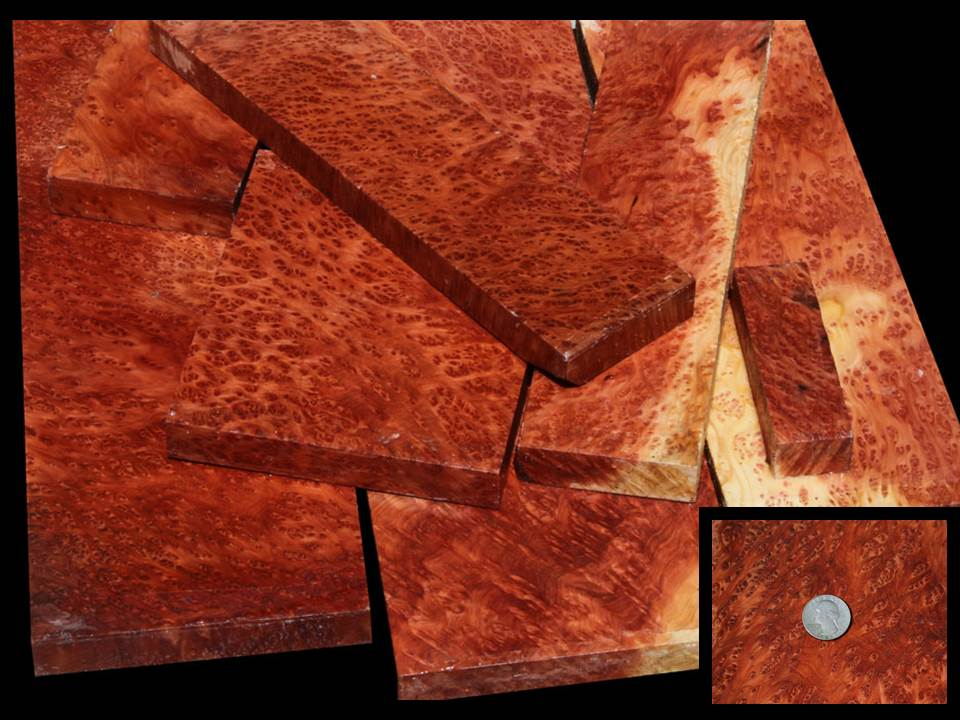 Premium Exhibition Redwood Lace Burl