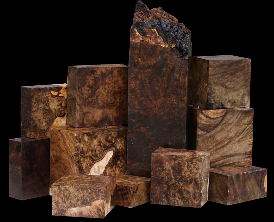 Tantalizing Turning Wood !!! Superior Claro Walnut Burl
