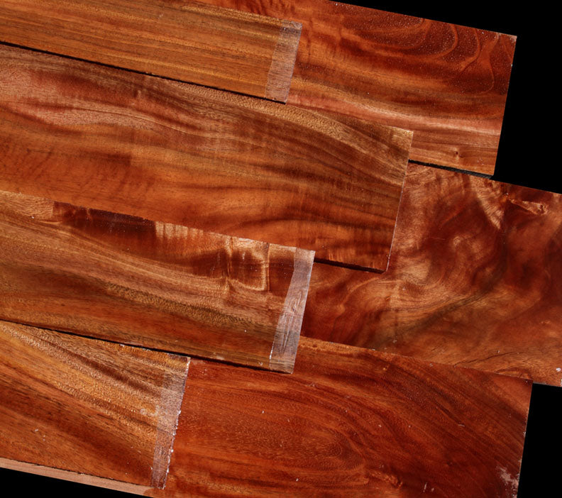 Genuine South Pacific Kamani ~ Unique & Rare Hardwood!