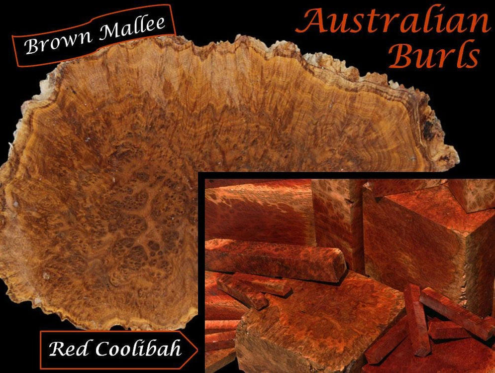 G'day Mate, We've Got Australian Burls