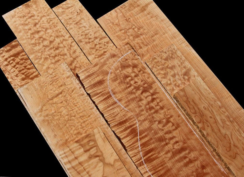 Quilted & Flamed Maple – Lowest Prices of the Season!