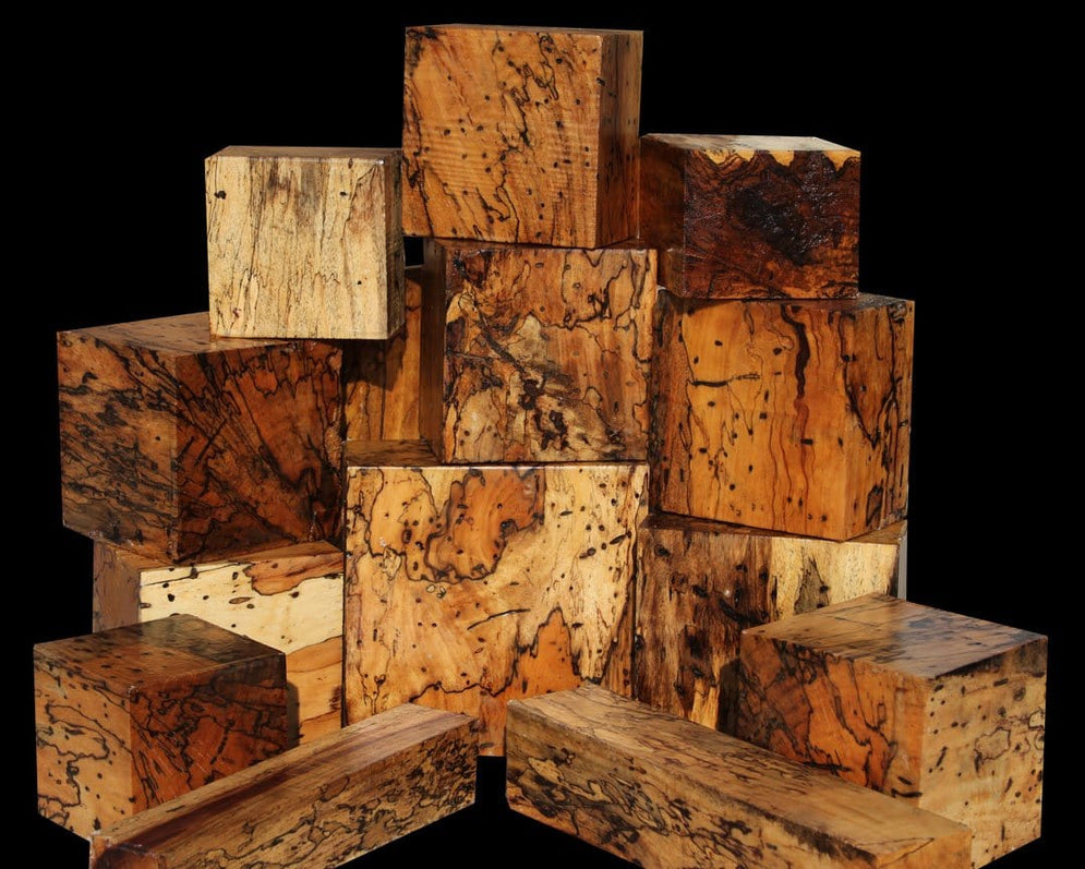 Heavily Spalted Tamarind: Uniquely Veined