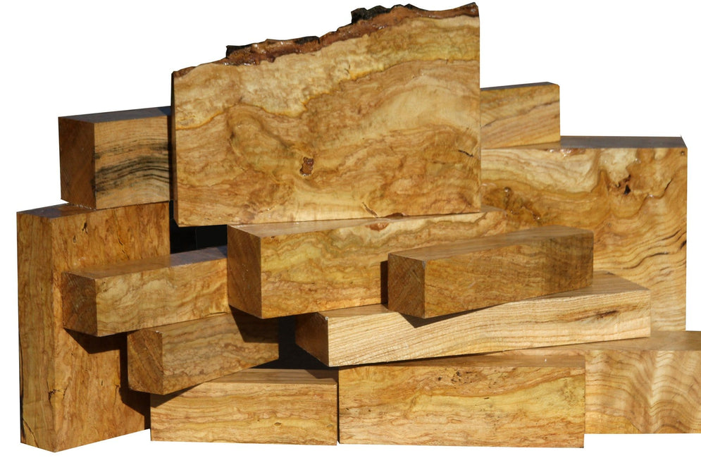 New Species On Sale! Figured Ailanthus Turning Blanks