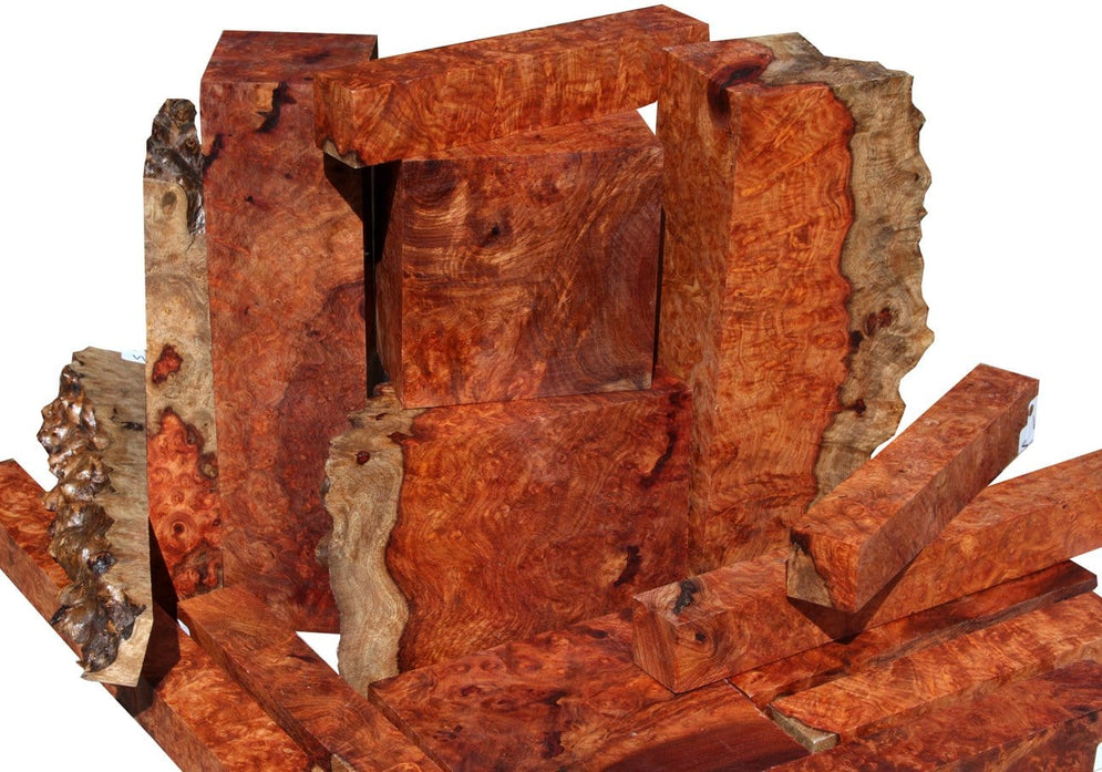 Twisting things up with Amboyna Burl!