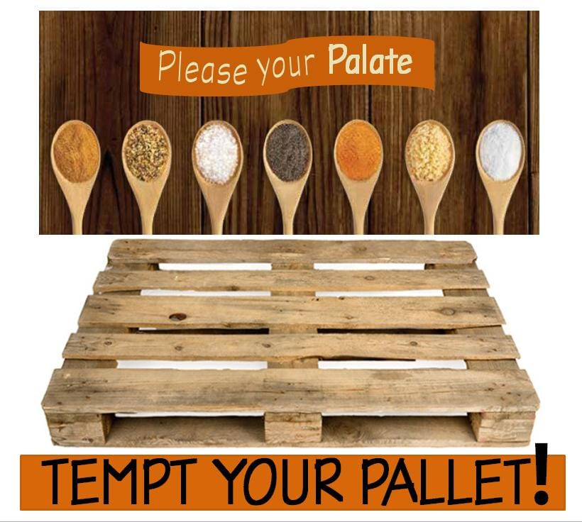 Please your Palate, Tempt your Pallet - Weekend Sale