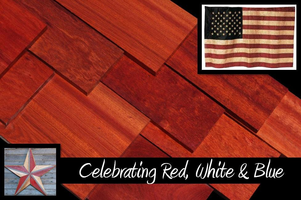 Celebrate Stars & Stripes with Red Bloodwood Lumber