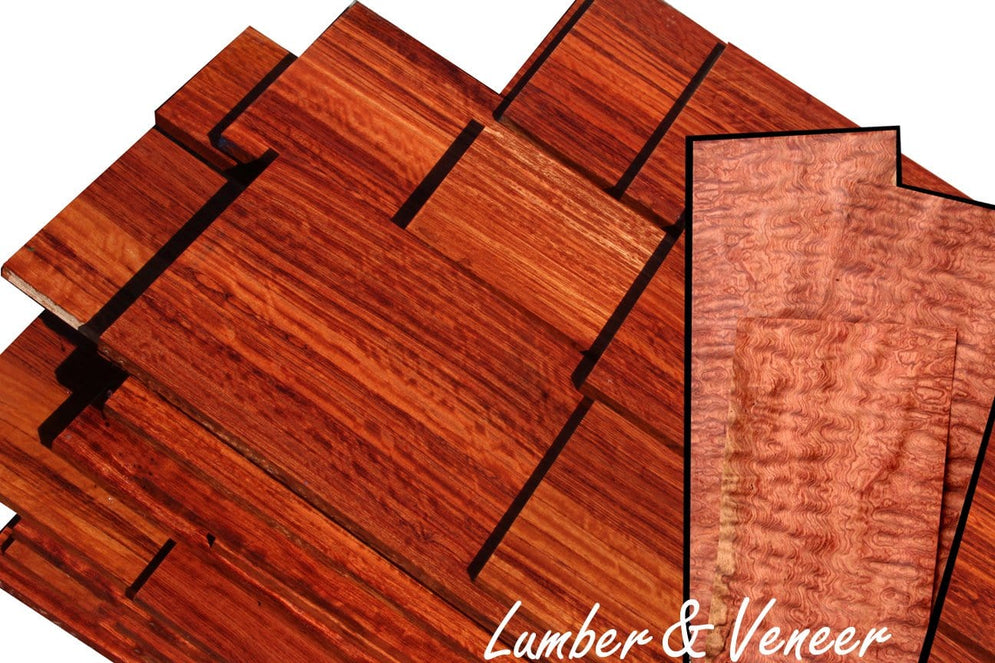 Double Deal: Figured Bubinga Lumber & Veneer