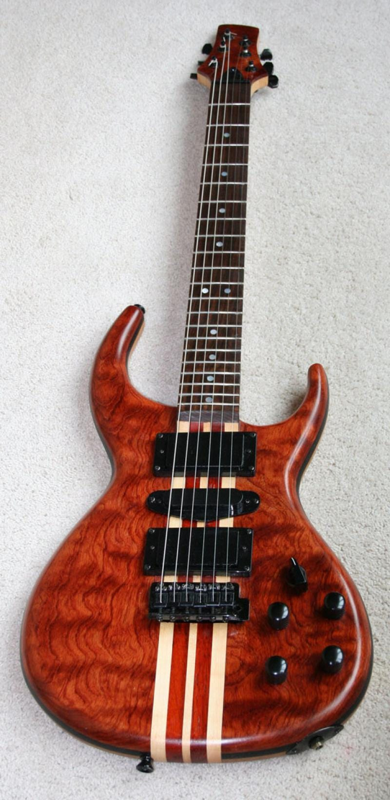 Figured Bubinga Guitar