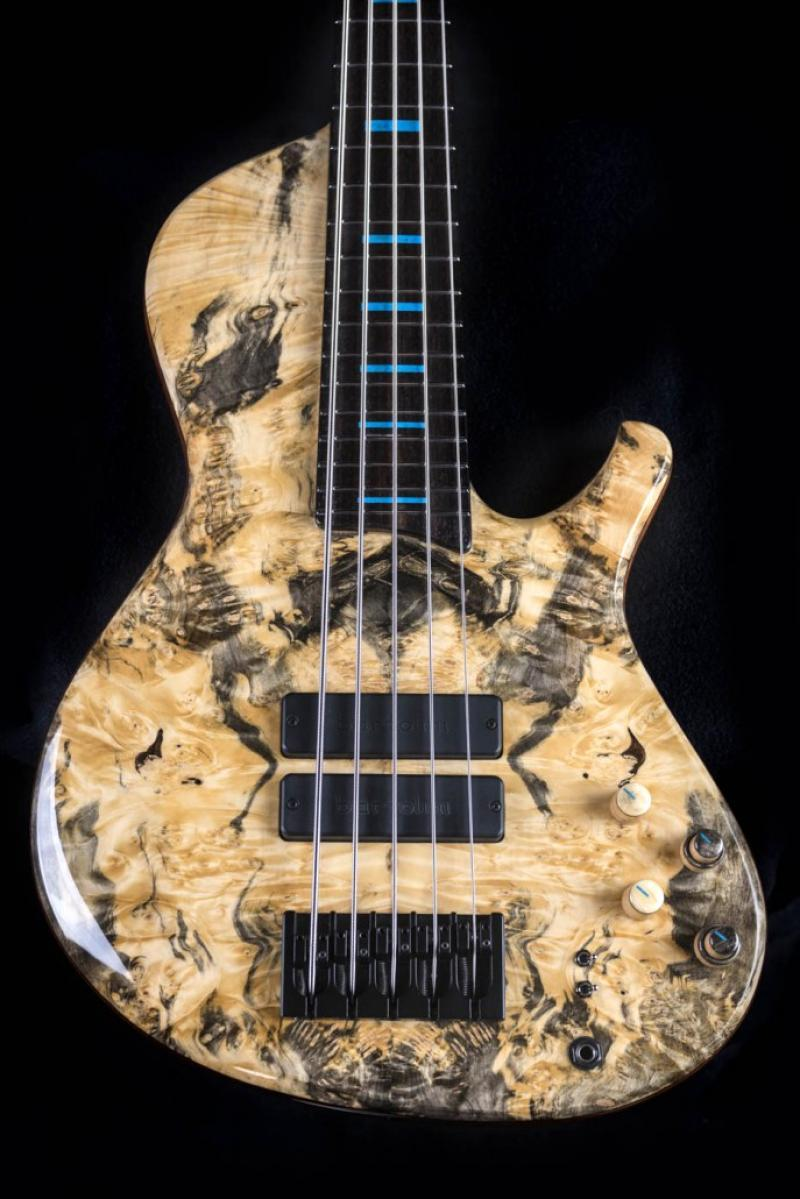 Expression 5 F.P. Custom Bass - Buckeye Burl