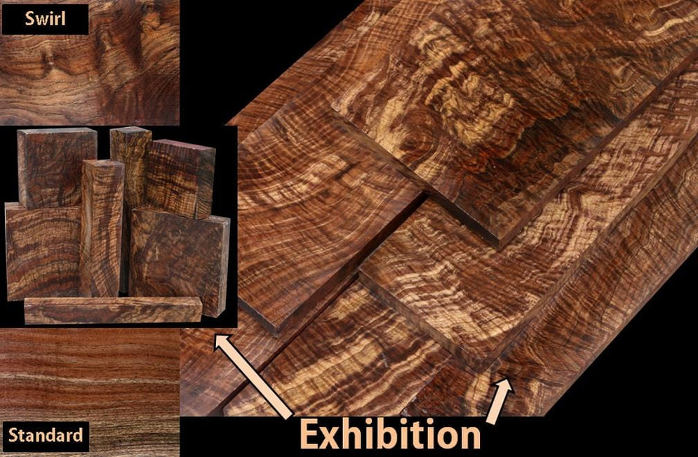 You won't believe your eyes, Exhibition Claro Walnut