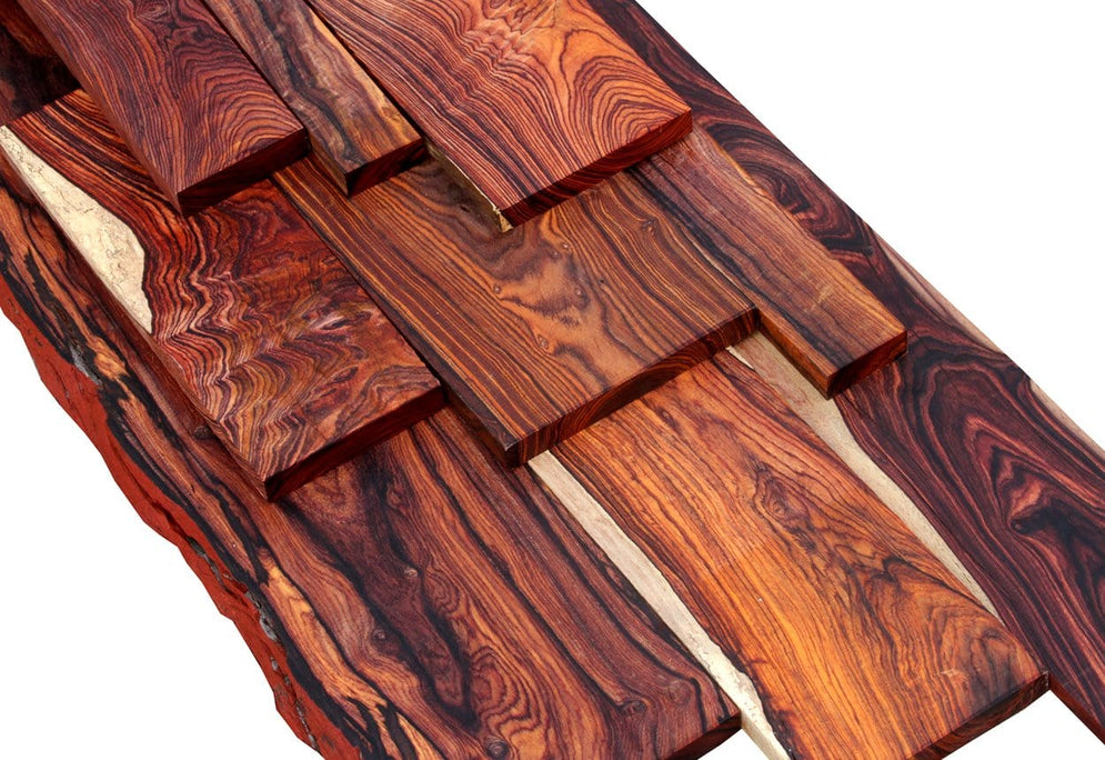 Genuine Mexican Cocobolo Rosewood