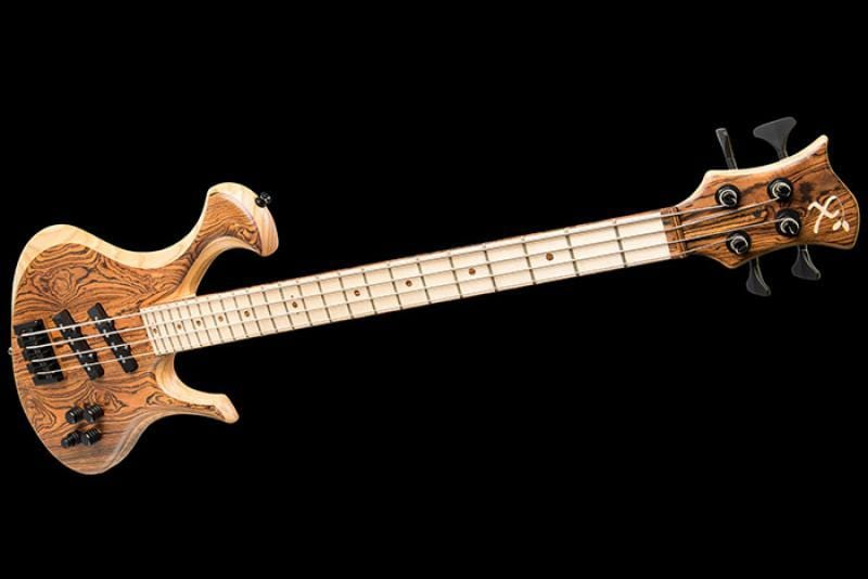 Custom Bass Featuring Bocote
