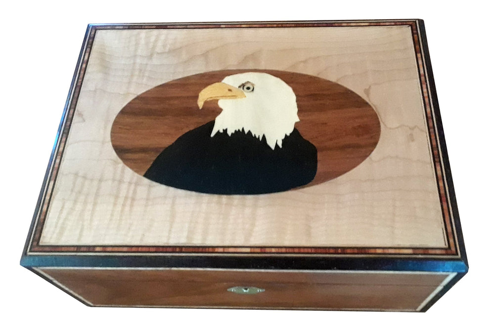 Eagle Inlay Box