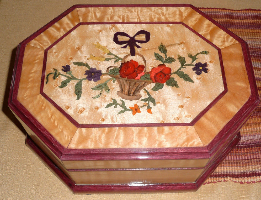 Flower Jewelry Box