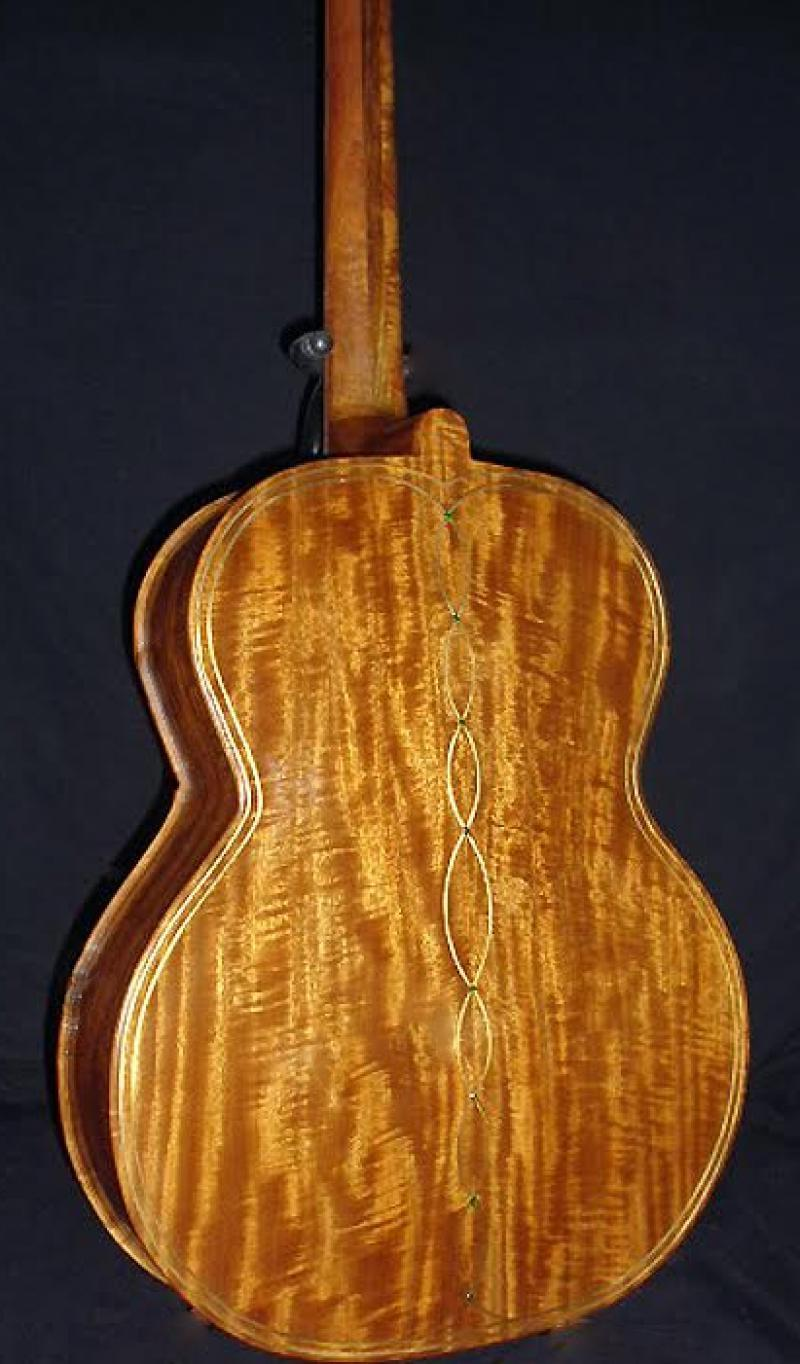 Figured Khaya Acoustic Guitar