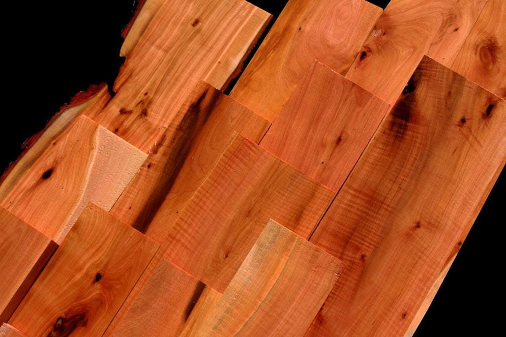 Rich Red/Orange Ironwood, Exceptional Lumber