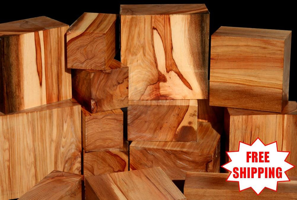 Shipping's On Us: Huge California Pecan Turning Wood