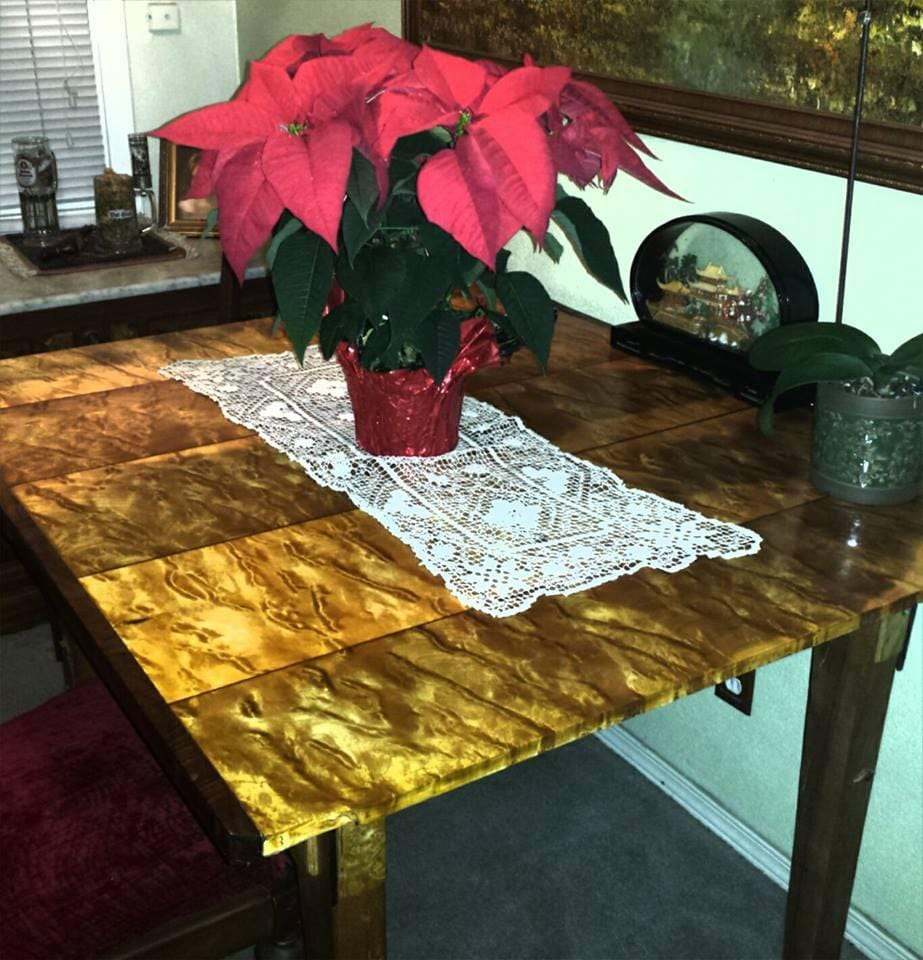 Quilted Poplar Dining Table