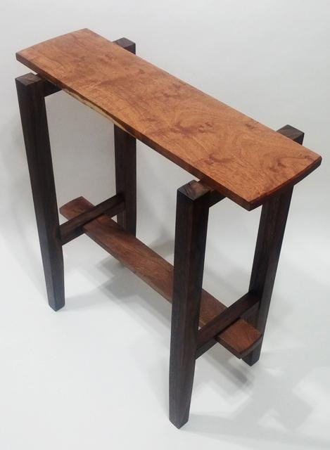 Mexican Mesquite and Oregon Black Walnut Display Table