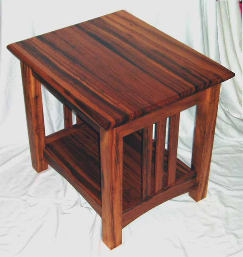 Tigerwood Table by Matt Reller