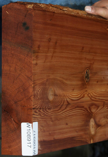 Old Growth Salvaged Redwood Mantel