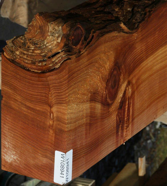 Natural Rustic Red Cedar Mantel