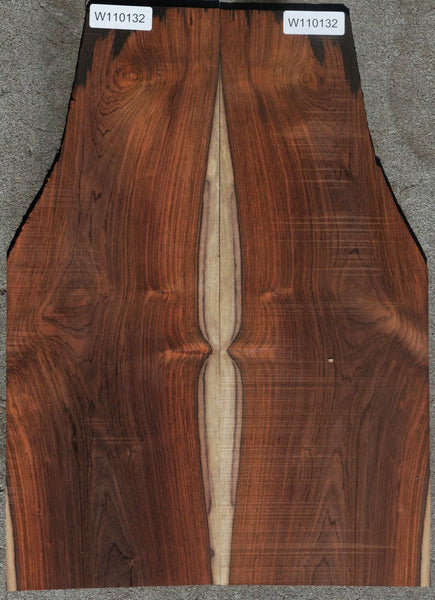 Brazilian Rosewood Guitar Back Set