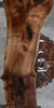 Rustic Grafted English/Claro Walnut Slab