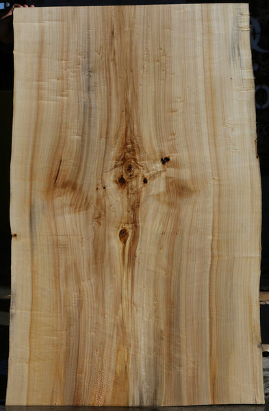 Figured Black Cottonwood Slab