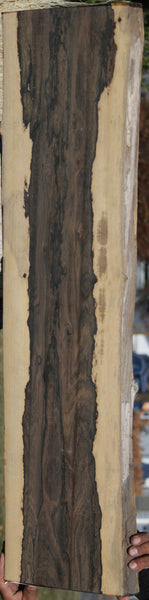 XF Figured Ziricote Live Edge Lumber