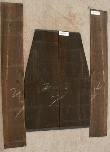 Gabon Ebony Guitar Backs and Sides