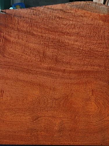 XF Figured Pomelle Sapele Slab