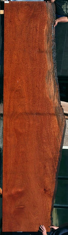 Bookmatched African Padauk Knife Scales