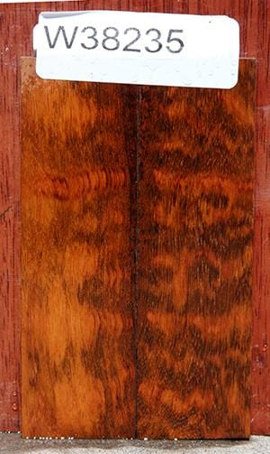 Snakewood Bookmatched Knife Scales