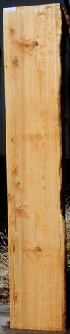 Figured Port Orford Cedar Rustic Mantel Slab / Instrument Billet